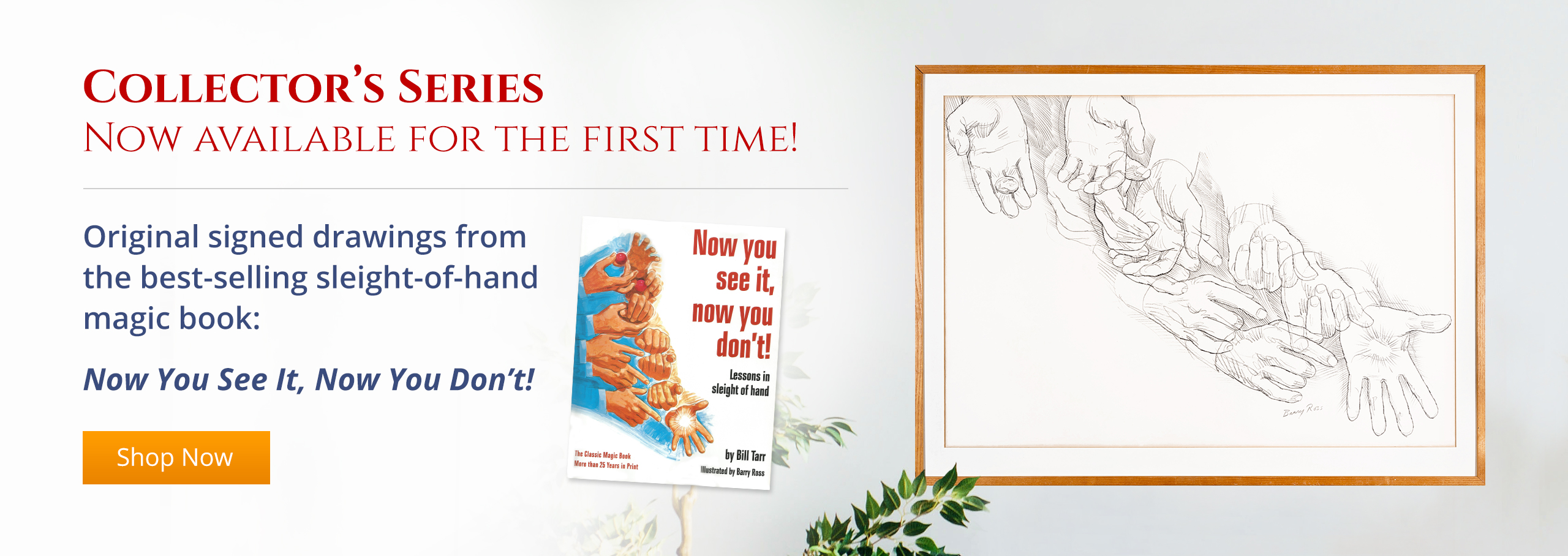 Limited time offer! Order a left and right page original drawings set and  receive $100 off your cart total!